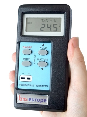 Tc1 Hand Held Thermocouple Thermometer Ukas Calibrated Uk